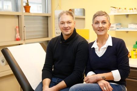 <b>Sonia GIROD et Laurent GUILLEGOZ, Infirmiers libéraux